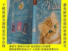 二手書博民逛書店magic罕見kitten a summer spell 魔法小貓一個夏天的咒語. .Y200392