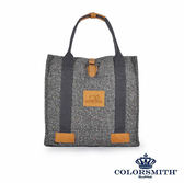 【COLORSMITH】BG・方形托特包-灰色・BG1328-GY