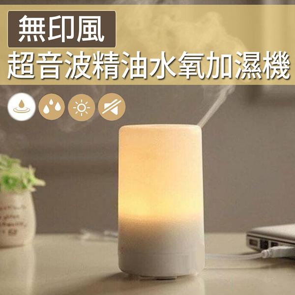 【限時特價】小夜燈 空氣加濕器 超音波靜音 無印風超音波精油水氧加濕機 NC17080123 ㊝加購網