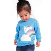 童裝 長袖上衣 秋款韓版 印花套頭衛衣 小童 中大童  女童 88230
