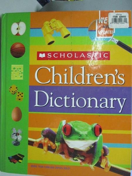 【書寶二手書T8/兒童文學_DC2】Scholastic Children s Dictionary_Not Available (NA)