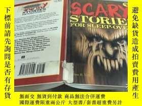 二手書博民逛書店SCARy罕見STORIES FOR SLEEP-OVERSY241950