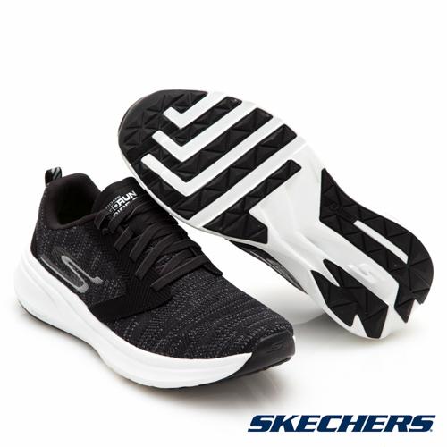 SKECHERS 慢跑系列 GO RUN RIDE 7 綁帶運動鞋 黑 15200BKW 女鞋