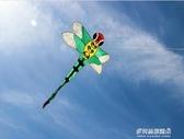 風箏-大蜻蜓風箏 成人傘布大型風箏 傘布樹脂骨架 微風風箏 YYS 多麗絲