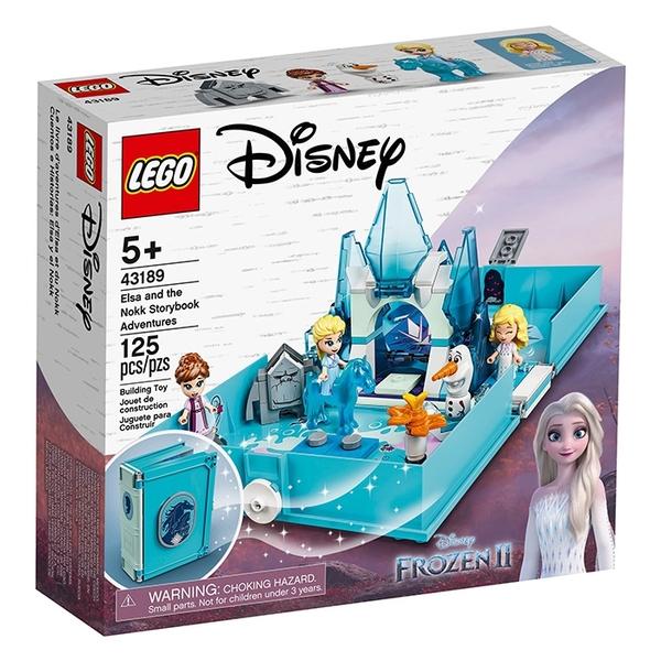 LEGO 樂高 Disney 公主系列 43189 冰雪奇緣2 艾莎與水靈諾克的口袋故事書 【鯊玩具Toy Shark】