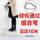 每週新品 疏通下水道的工具廁所馬桶疏通器管道堵塞廚房神器強力手搖一投通