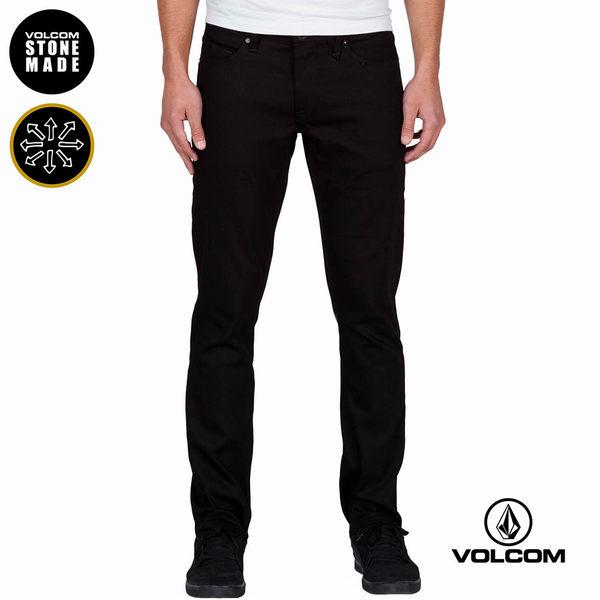 VOLCOM VORTA DENIM 修身款牛仔褲-黑