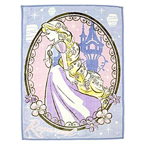 DISNEY 迪士尼公主手繪圖案兒童用單人毛毯M(長髮公主樂佩璀璨未來)★funbox★丸真_RS65855