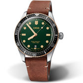 Oris豪利時Oris Divers Sixty-Five復刻手錶 0173377074357-0752045 綠