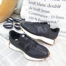 New Balance NB 327 女款 休閒鞋 B楦 運動鞋 公司貨 WS327LB 黑皮革【iSport愛運動】
