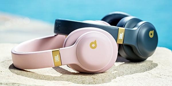 【名展影音】情人節送禮首選! 高優質感 JBL E55BT Quincy Edition 重低音頭戴式藍牙耳機