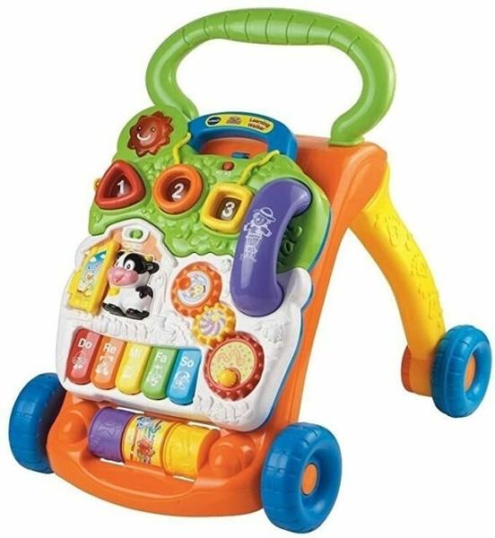 【 Vtech 聲光玩具 】寶寶聲光學步車(美國版) / JOYBUS玩具百貨