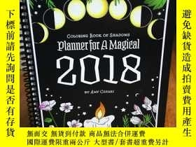 二手書博民逛書店Coloring罕見Book of Shadows: Plann