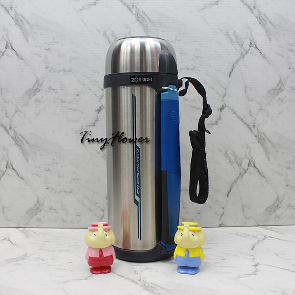 【象印】廣口不鏽鋼真空保溫瓶2.0L SF-CC20