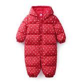 寶寶嬰兒衣服 新生兒連體衣 幼兒長袖爬爬服 哈衣男女寶寶加厚冬裝
