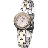 TITONI 梅花錶優雅伊人時尚腕錶 TQ42915SY-DB-382
