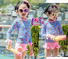 來福泳衣,F91泳褲小草莓長袖泳衣兒童泳衣小朋友游泳衣正品,整套售價599元