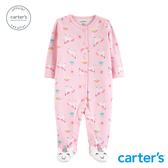 【美國 carter s】粉紅獨角獸造型新生兒兔裝