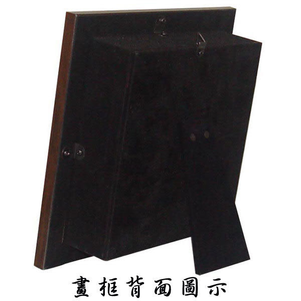 鹿港窯-台灣國寶交趾陶開運裝飾壁飾-立體框【 L 獨佔鰲頭 】