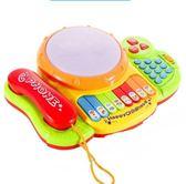 寶寶玩具電話機手機嬰兒兒童早教益智音樂1-3歲0小孩6-12個月男女 ATF 伊衫風尚