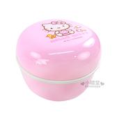 〔小禮堂嬰幼館〕台灣 佳美 Kitty 粉撲盒《粉紅.嬰兒用品》給寶寶最貼心的溫柔呵護 4710482-07266