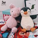 小豬少女心玩偶 小號毛絨玩具可愛企鵝公仔...