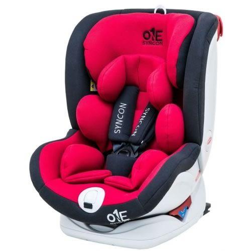☆愛兒麗☆欣康ONE(0-12歲)ISOFIX汽車安全座椅-升級版-紅FB00556