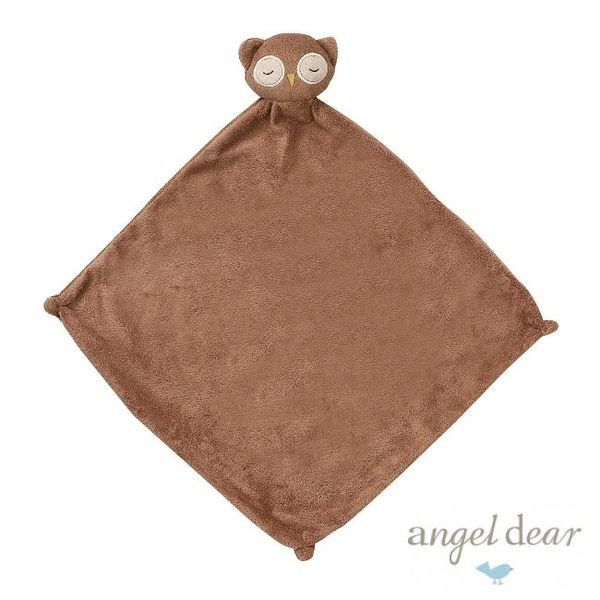 美國Angel Dear 動物嬰兒安撫巾 貓頭鷹