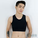 【T-STUDIO獨家代理-香港品牌束胸內衣】BOOM-DOUBLE透氣舒適網布套式半身(黑)