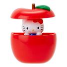 【震撼精品百貨】Hello Kitty 凱蒂貓~HELLO KITTY趣味躲貓貓彈跳造型磁鐵(蘋果)