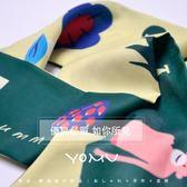YOMU 猴賽雷 可愛絲巾發箍兔耳朵蝴蝶結交叉發帶兩用chic女潮吾本良品
