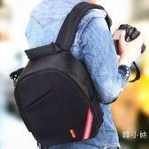 單反相機包佳能雙肩攝影包男女5D2/5D3/6D/60D/70D/80D/700D/760D