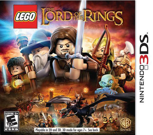 3DS LEGO Lord of the Rings 樂高魔戒(美版代購)