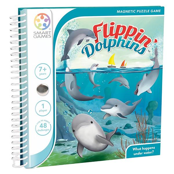 信誼【SmartGames】魔磁隨身遊戲-海豚家族