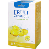 芳第《High Tea》水果草本茶-檸檬果萊姆 2g*20入/盒