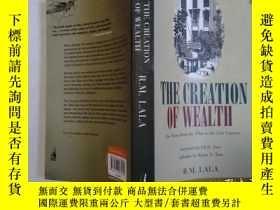 二手書博民逛書店THE罕見CREATION OF WEALTHY247543 不