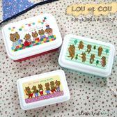 le sucre【LOU et COU】 法國熊食物餐盒3件裝