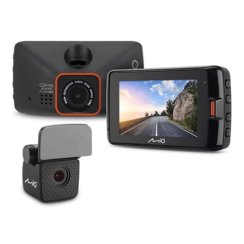 【免運+3期零利率】贈大容量記憶卡 全新Mio MiVue™ 791Ds 前後夜視 GPS雙鏡頭行車記錄器