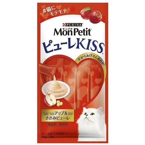 *WANG *日本MonPetit貓倍麗》Puree Kiss小鮮肉泥10g*4條/包 似ciao