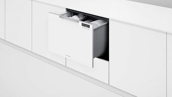 紐西蘭 Fisher & Paykel 菲雪品克 單層白色洗碗機(7人份) DD60SCHW9 贈標準安裝