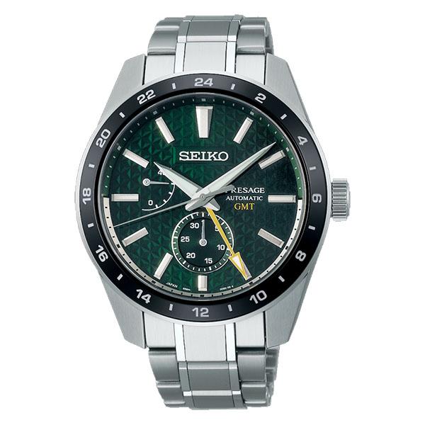 日本精工SEIKO Sharp Edged Series 新銳系列動力顯示機械錶 6R64-00C0G(SPB219J1)綠
