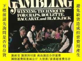 二手書博民逛書店Casino罕見Gambling Winning Technio