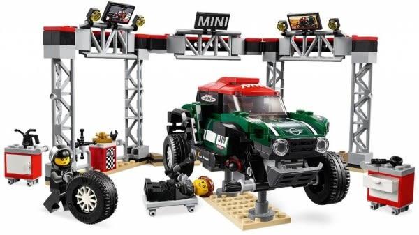 樂高LEGO SPEED MINI 拉力賽車組合 Mini Cooper 75894 TOYeGO 玩具e哥