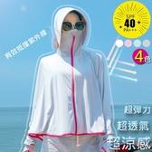 LAURA彈力透氣冰涼感防曬罩衫-灰色