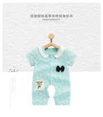 嬰兒夏季連體衣開檔寶寶哈衣薄款夏裝小公主