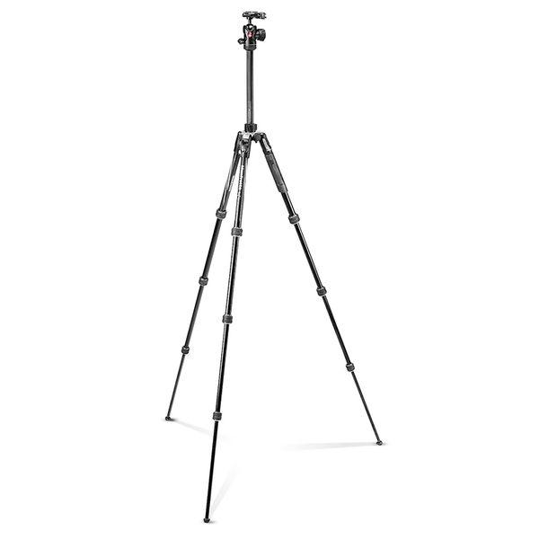 ◎相機專家◎ Manfrotto Befree Advanced  三腳架套組 旋鈕式 黑 MKBFRTA4BK-BH 公司貨