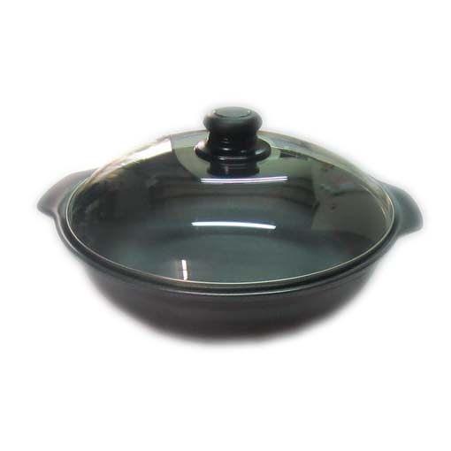 陶鍋-楓樹陶坊能量陶瓷平底炒菜鍋