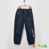 【歲末出清】丹寧束口長褲牛仔藍-bossini男童