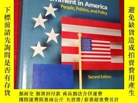 二手書博民逛書店lineberry罕見government in america
