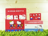 【震撼精品百貨】Hello Kitty 凱蒂貓~信籤組附袋~紅腳踏車【共1款】